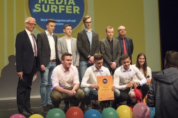 Medienprojektzentrum Offener Kanal Fulda: Jahnschüler gewinnen Mediasurfer!
