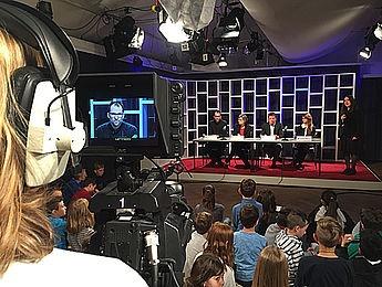 Medienprojektzentrum Offener Kanal Kassel: Medien machen Schule - Kinderpressekonferenz zur documenta