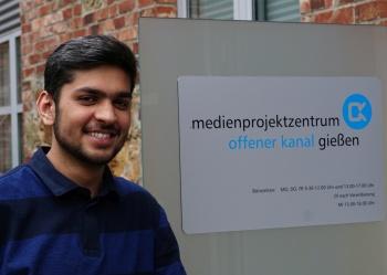 Medienprojektzentrum Offener Kanal Gießen: Unser Praktikant aus Pakistan